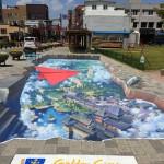 경주 봉황로 문화의 거리, 신기한 3D 트릭아트로 시선 집중