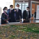 김창준 전 미국 연방하원의원 경주엑스포 방문