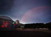영천시) 보현산 천문과학관 전경 사진(야간)