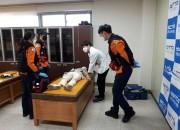 영천시) 30일 영천시 코로나19 예방접종센터 모의훈련 - 응급조치(1)