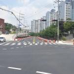 영천중학교~완산오거리 간 도로 일부 구간 개통