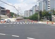 영천시) 영천중학교~완산오거리 간 도로 일부 구간 개통 사진