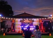 경주엑스포대공원 가을 시즌 프로그램 루미나 해피 할로윈 에 설치된 DJ펌프킨 테마구간